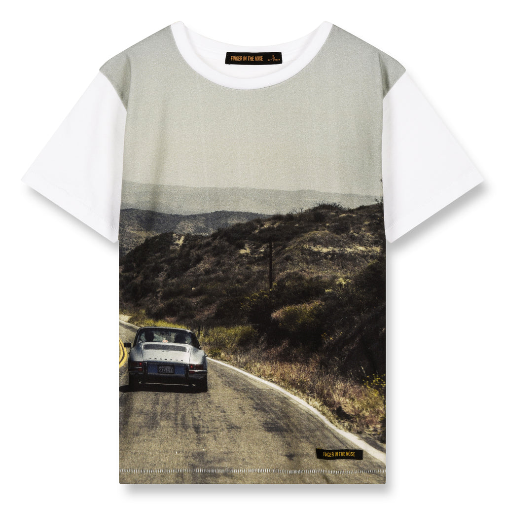 DALTON White Road - Short Sleeves T-Shirt 1