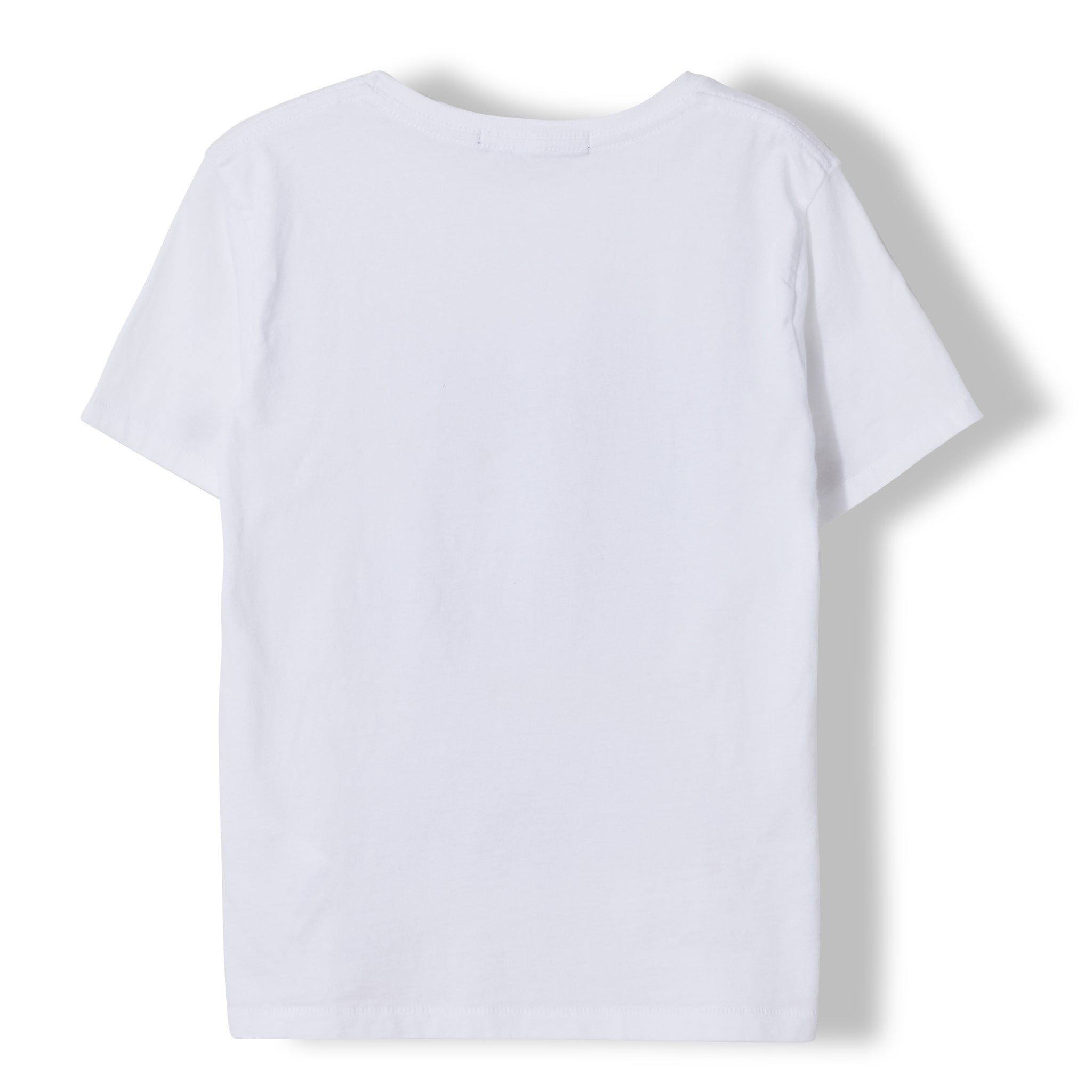 DALTON White Summer Skate - Boy Knitted Jersey Short Sleeve T-Shirt 3