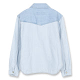 DUSK Blue Stripes - Long Sleeve Shirt 2
