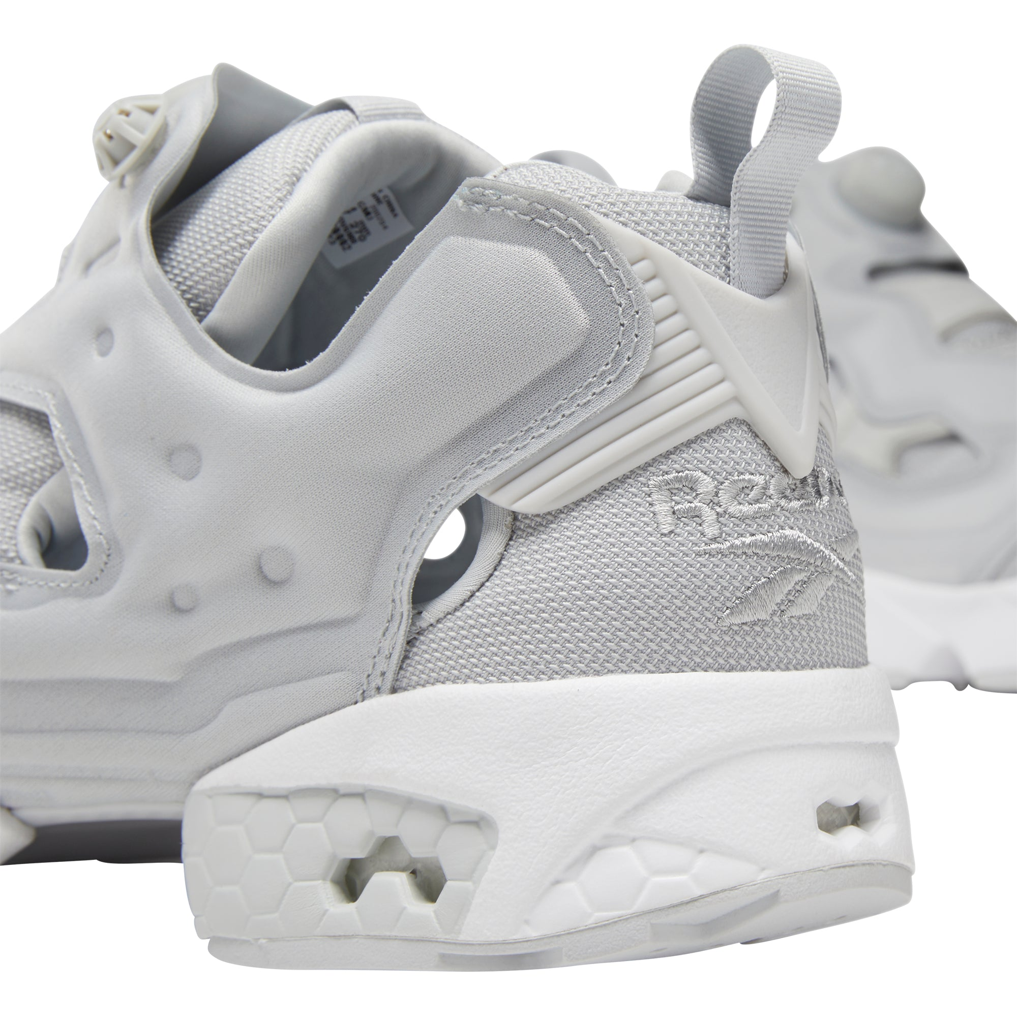 REEBOK Instapump Fury OG Shoes - Skull Grey / White