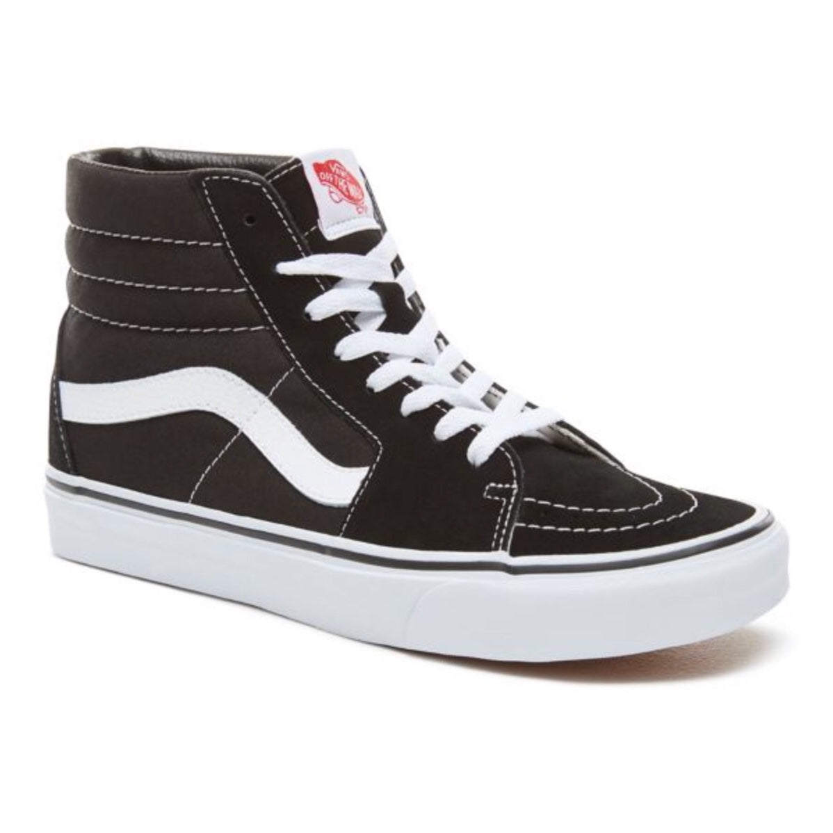 VANS SK8-Hi - Black-True White