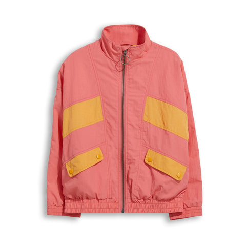 EIGHTY Milky Pink / Milky Kumquat - Tracksuit Jacket 1