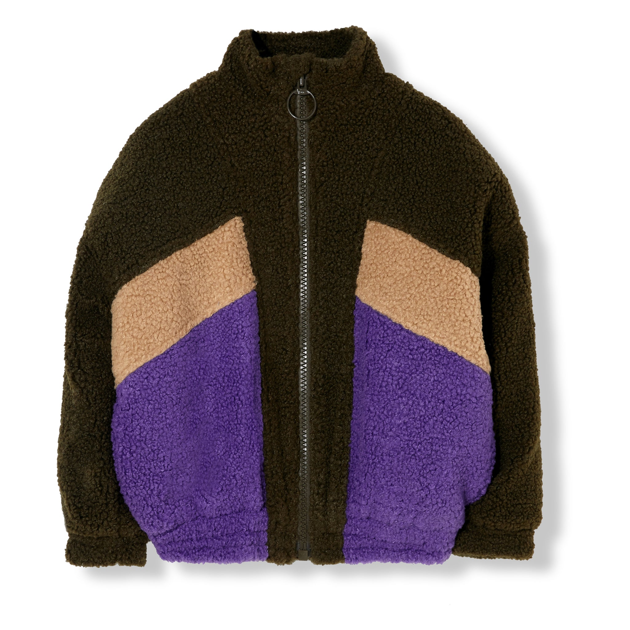 EIGHTY Multicolor Sherpa - Tracksuit Jacket 1