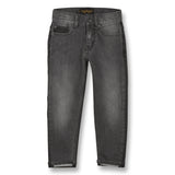 EMMA Black Denim Bicolor - 5 Pocket Boyfriend Fit Jeans 1