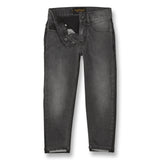 EMMA Black Denim Bicolor - 5 Pocket Boyfriend Fit Jeans 3