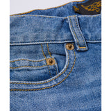 EMMA Blue Denim Patch - 5 Pocket friend Fit Jeans 5