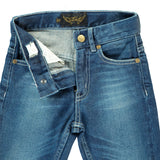 EMMA Dark Dirty Blue - 5 Pocket Boyfriend Fit Jeans