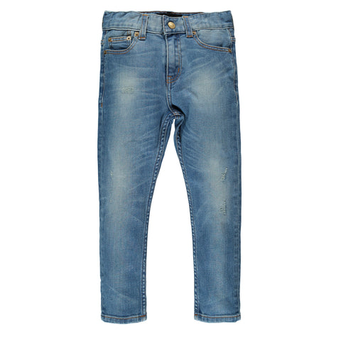 EWAN Light Dirty Blue - Boy 5 Pocket Comfort Fit Jeans