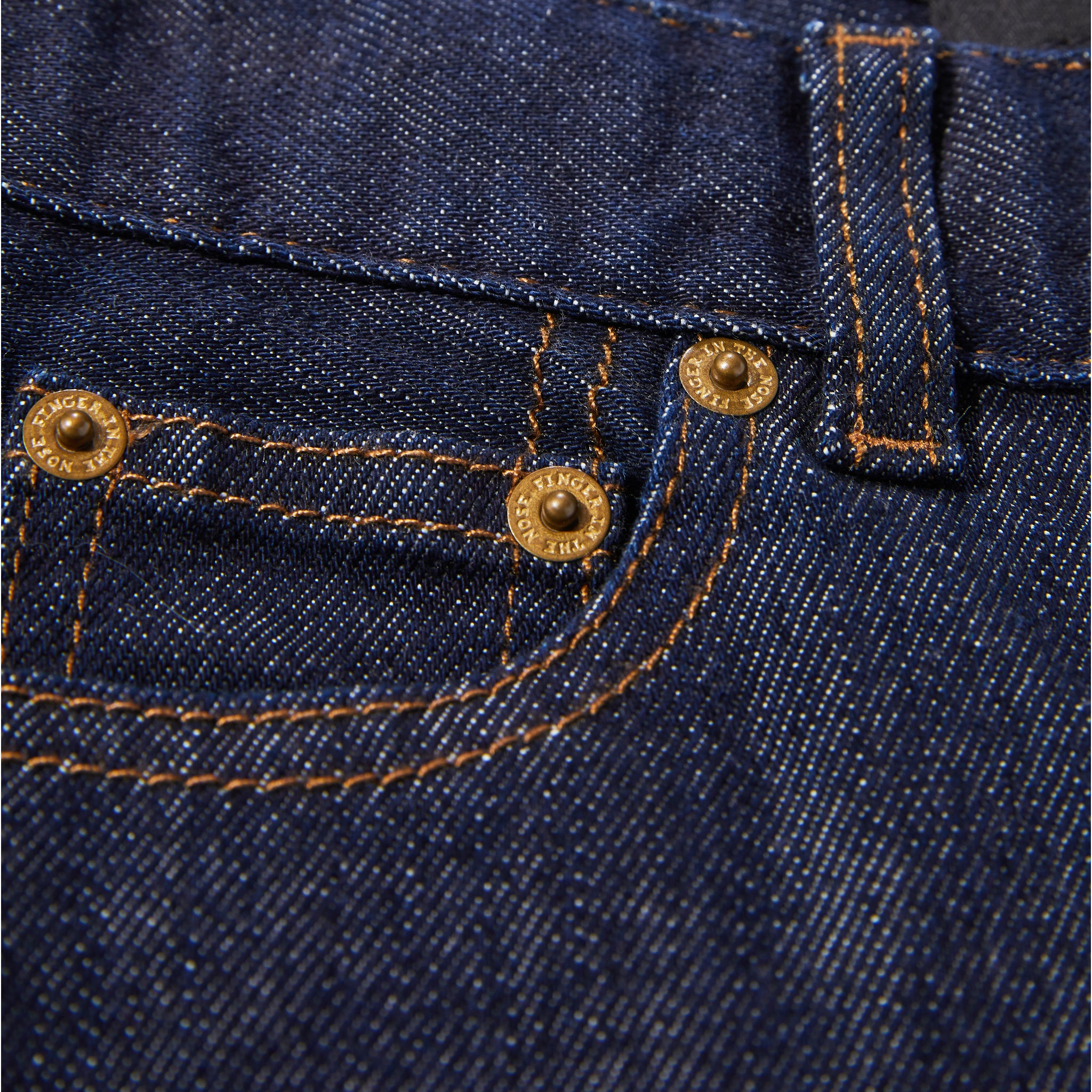 EWAN Raw Denim Blue - 5 Pocket Comfort Fit Jeans 5