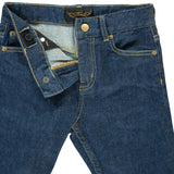 EWAN Raw Denim Blue Selvage - 5-Pocket Comfort Fit Jean