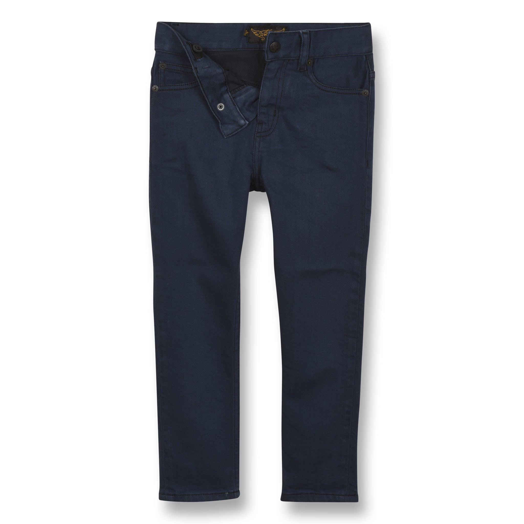 EWAN Sulphur Blue - 5 Pocket Comfort Fit Jeans