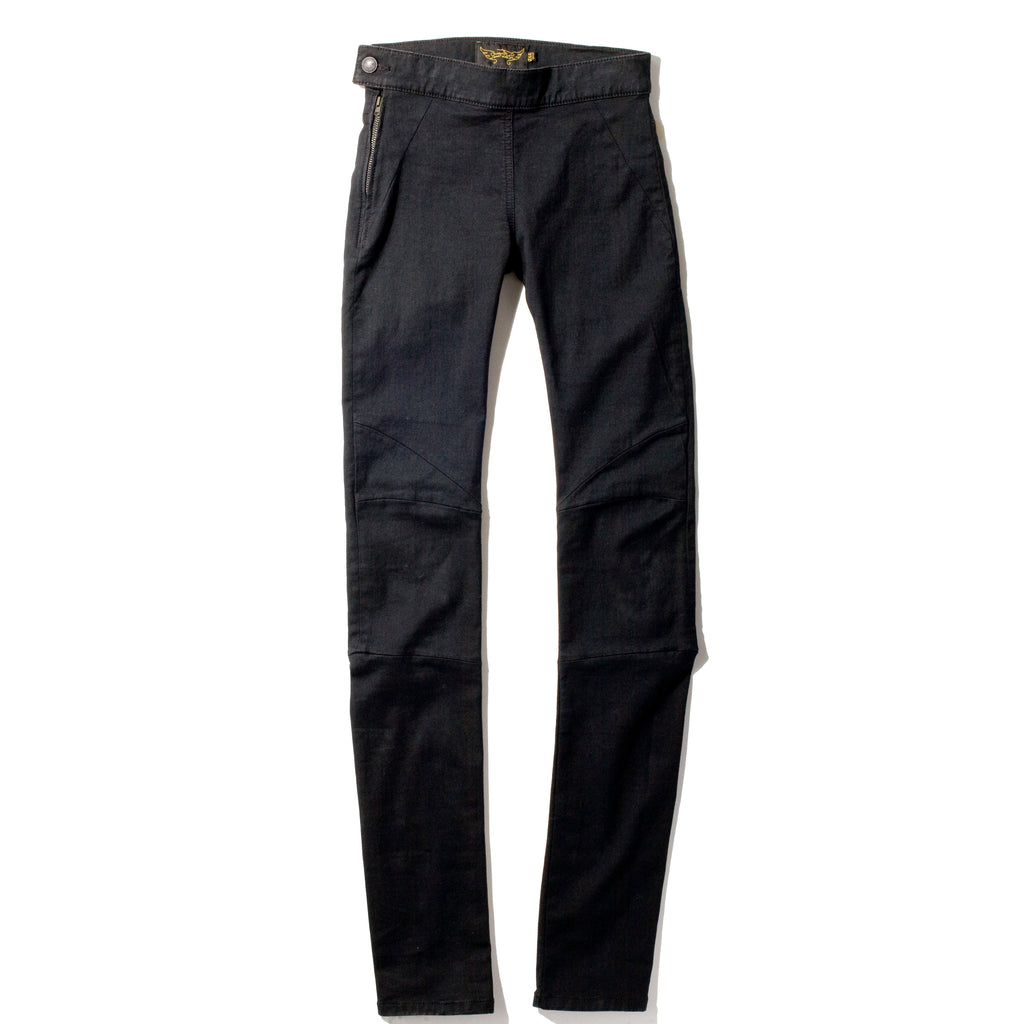 ELENA Black Denim - High Waist Jegging/Skinny Pant