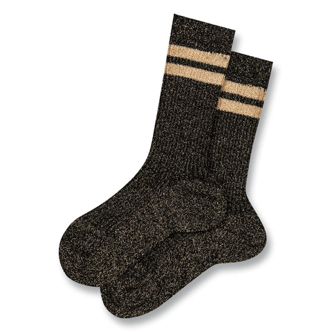 FLORIDA Black Stripes -  Knitted Socks