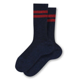 FLORIDA Dark Blue Stripes - Socks 1
