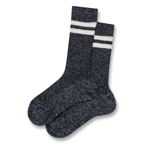 FLORIDA Navy Stripes -  Knitted Socks 1