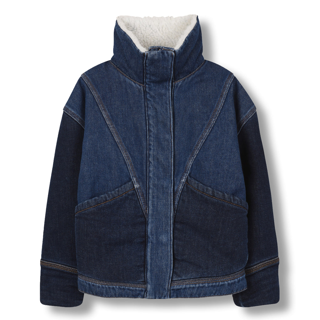 FLYER Blue Denim - Oversized Denim Jacket 1