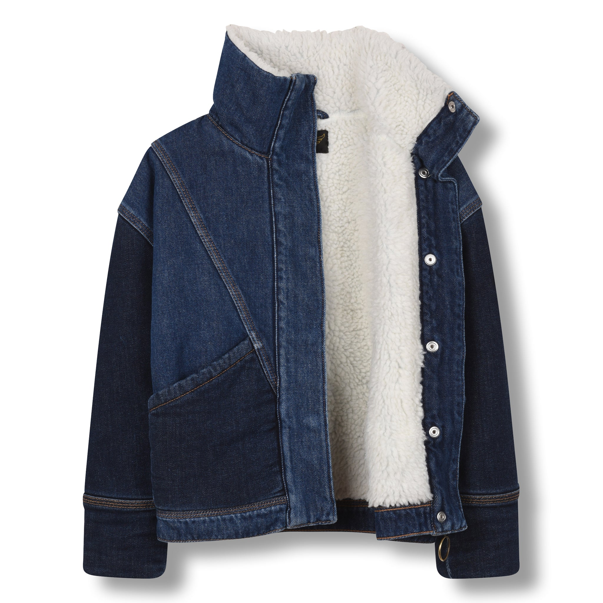 FLYER Blue Denim - Oversized Denim Jacket 3
