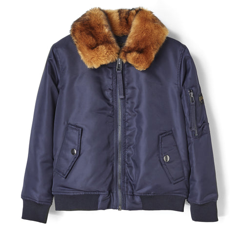 GARETH Night Blue - Flight Jacket