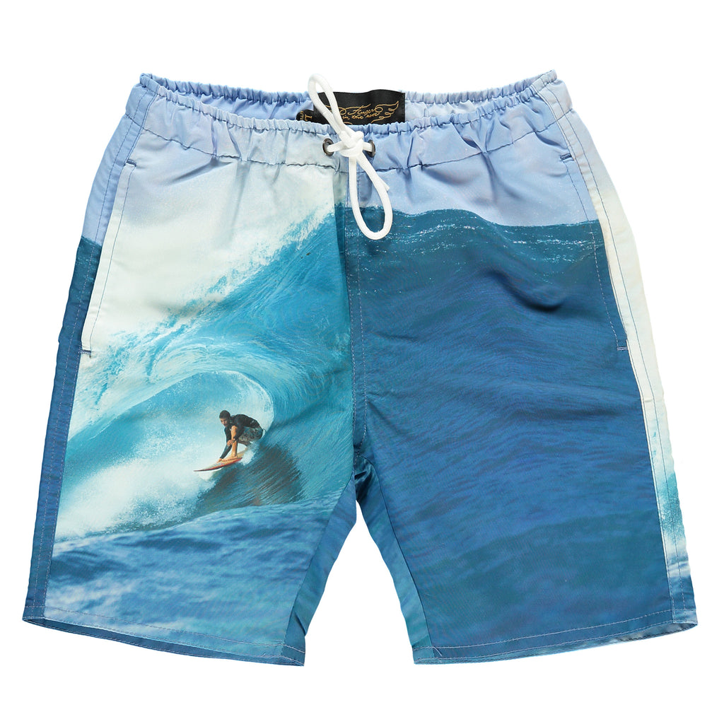 GOODBOY Multicolor Wave Rider - Boy Swim Short
