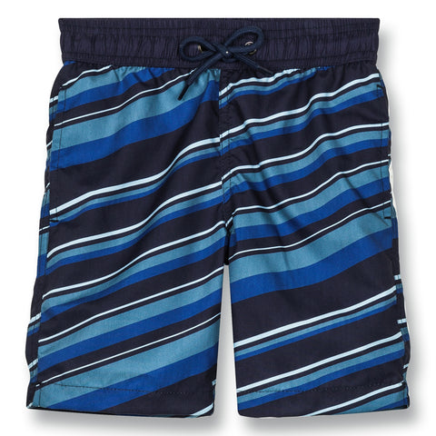 GOODBOY Super Navy Blue Stripes - Surf Bermudas 1