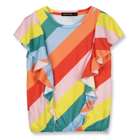 154c62c0e GRAMMY Multicolor Stripes - Sleeveless Top 1