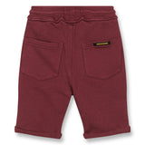 GROUNDED Burgundy - Comfort Fit Bermudas 2