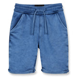 GROUNDED Kraft Blue - Comfort Fit Bermudas 1