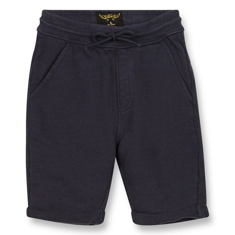 GROUNDED Super Navy - Comfort Fit Bermudas 1