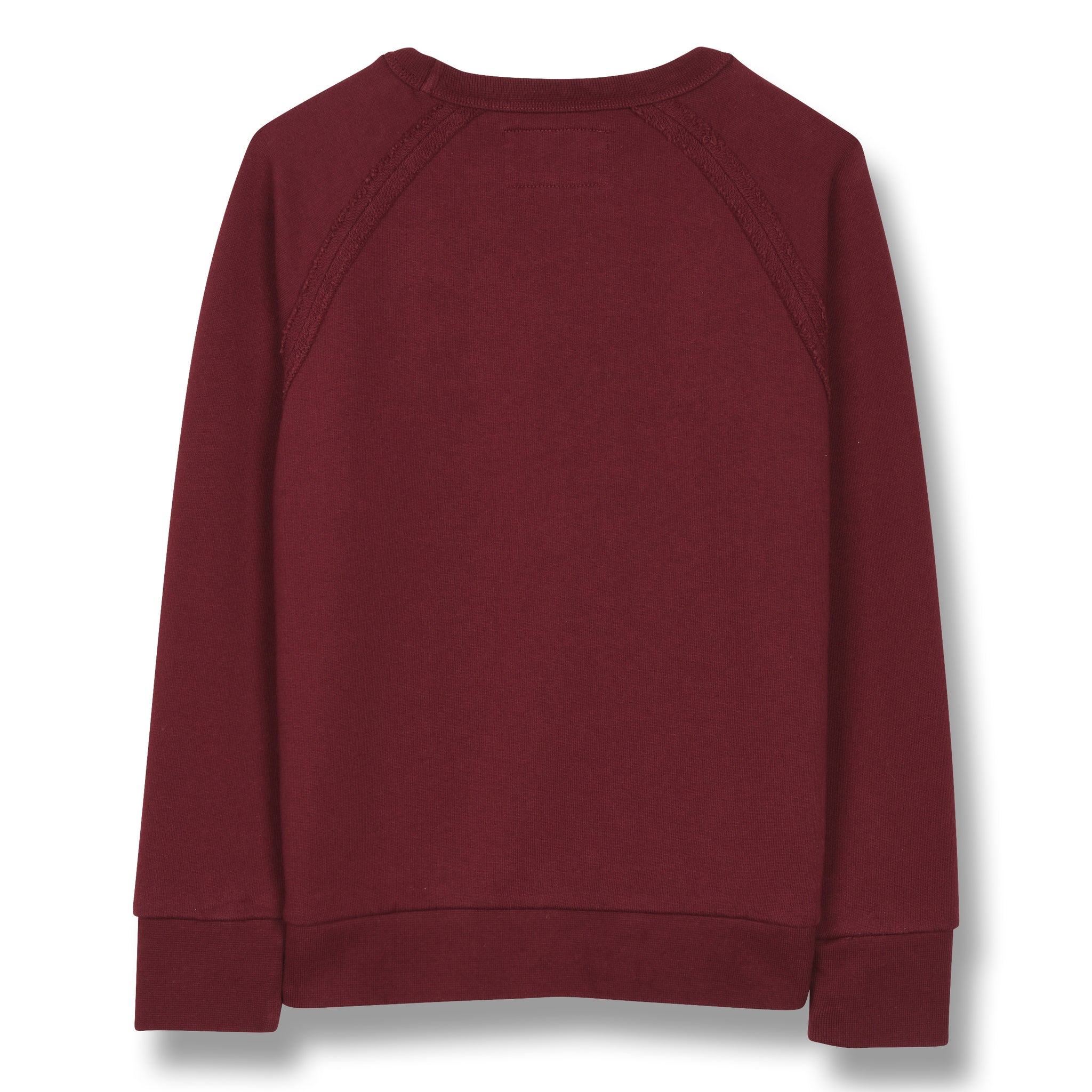 HANK Burgundy Flags - Raglan Sleeves Sweatshirt 1