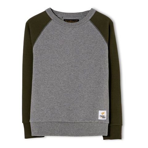 HANK Dark Heather Grey - Crew Neck Sweater 1