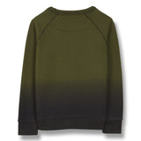 HANK Khaki Cat Smile - Raglan Sleeves Sweatshirt 2