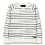 HANK Kraft Blue Stripes - Crew Neck Sweatshirt 1