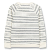 HANK Kraft Blue Stripes - Crew Neck Sweatshirt 2