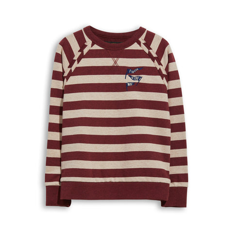 HANK Sienna Stripes - Crew Neck Sweatshirt 1