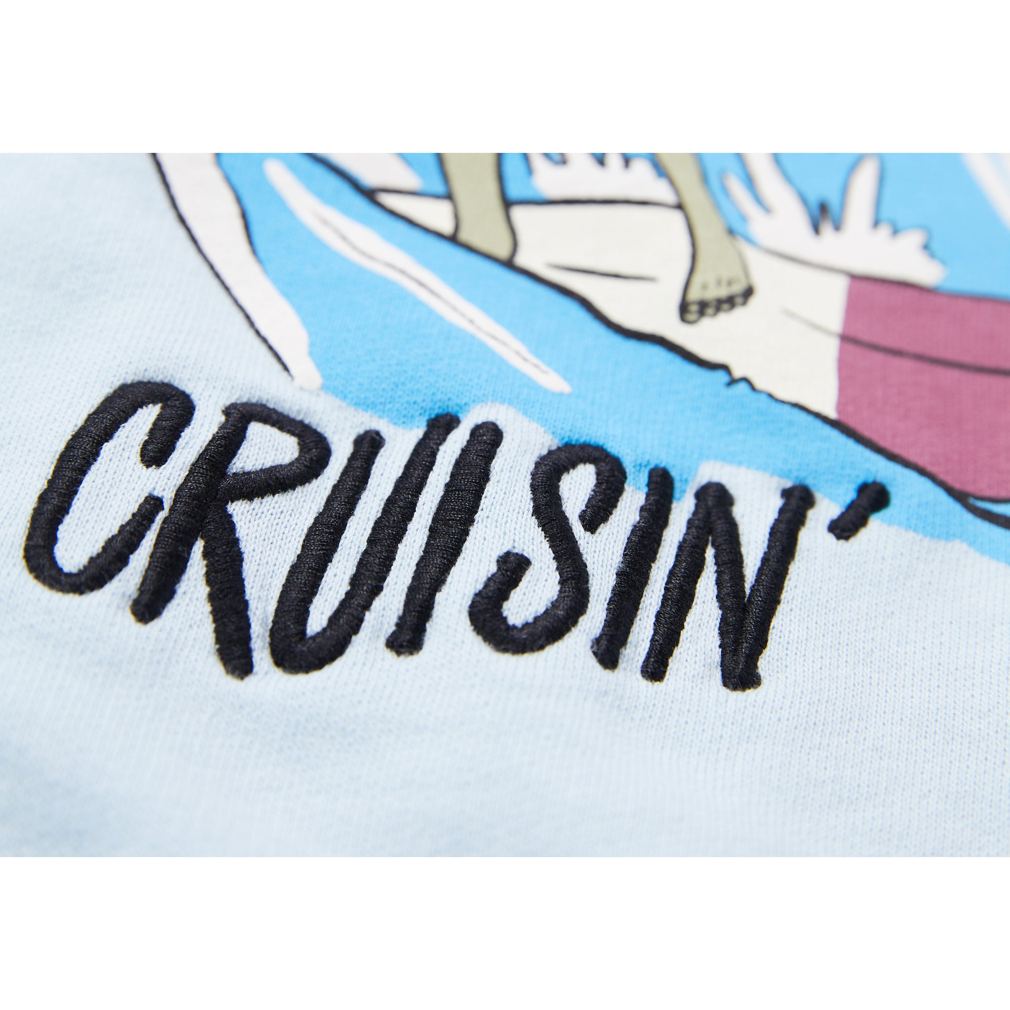 HANK Wave Blue Cruisin - Crew Neck Sweatshirt 3