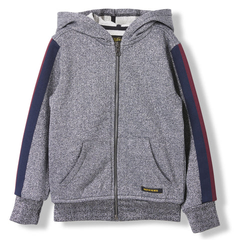 HAYDEN Glitter -  Knitted Zipped Hoody 1