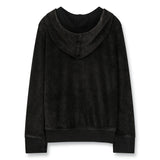 HAYDEN Vintage Black - Zipped Hoody 2