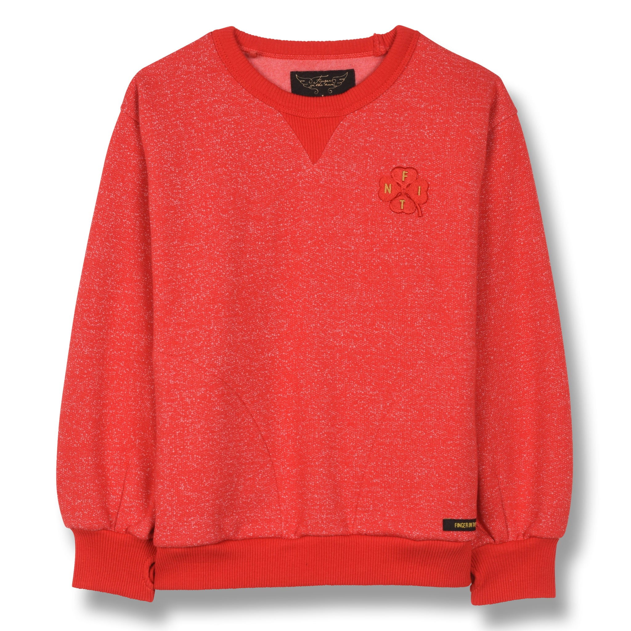 HIROKO Heather Red Clover - Crew Neck Sweatshirt 1