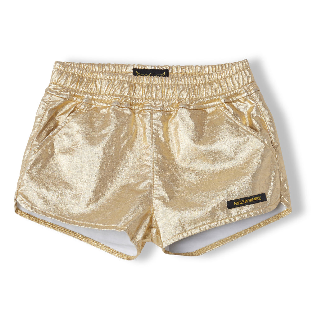 HOLIDAY Gold Metal - Girl Knitted Shorts 1