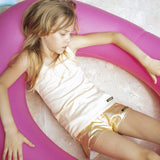 HOLIDAY Gold Metal - Girl Knitted Shorts 3 js-nozoom