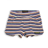 HOLIDAY Multicolor Stripes -  Mini Shorts 1