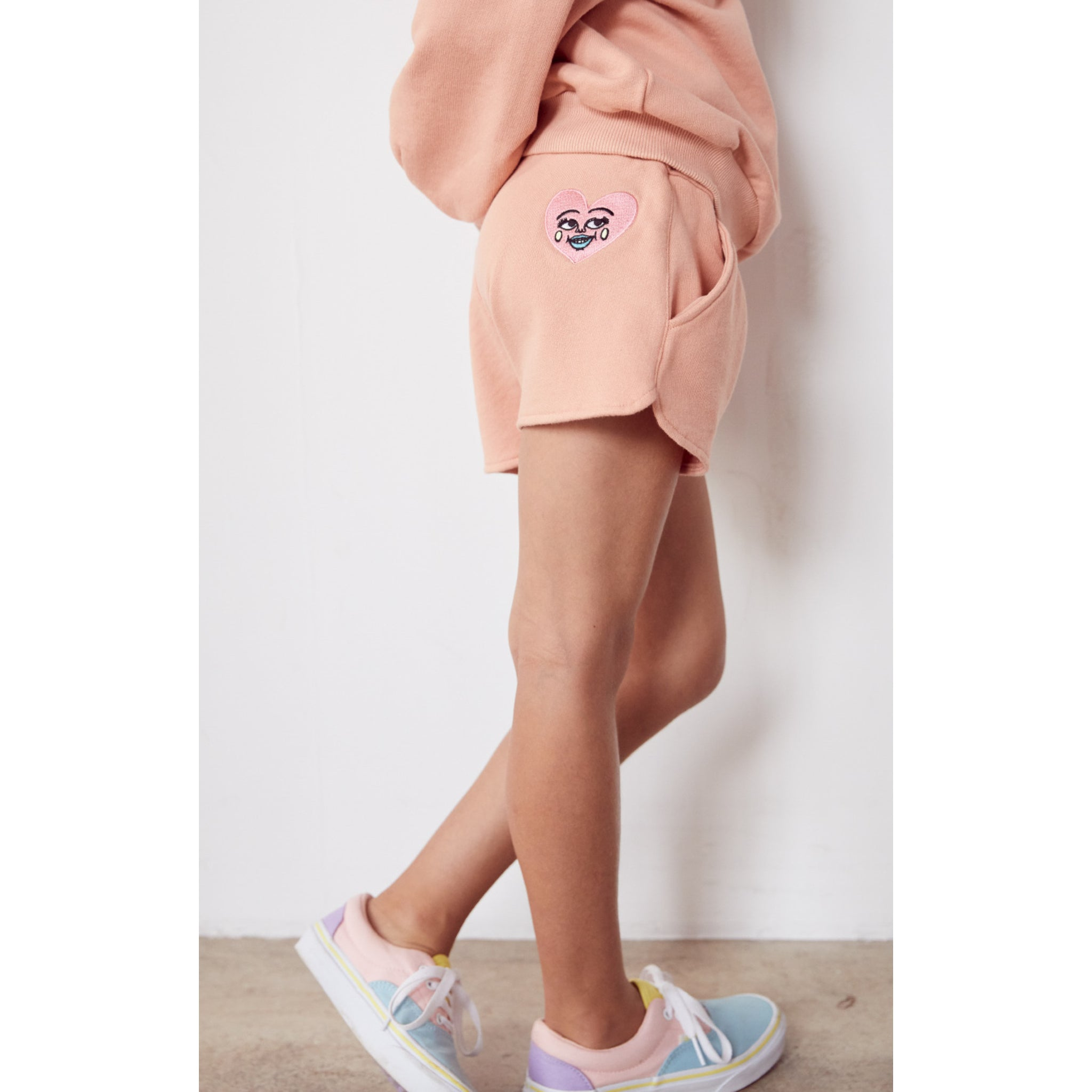 HOLIDAY Powder Pink Heart - Shorts 2