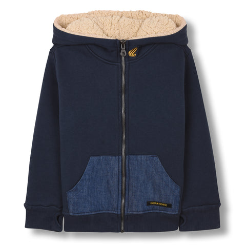 HOOPER Sailor Blue - Zipped Hoodie 1
