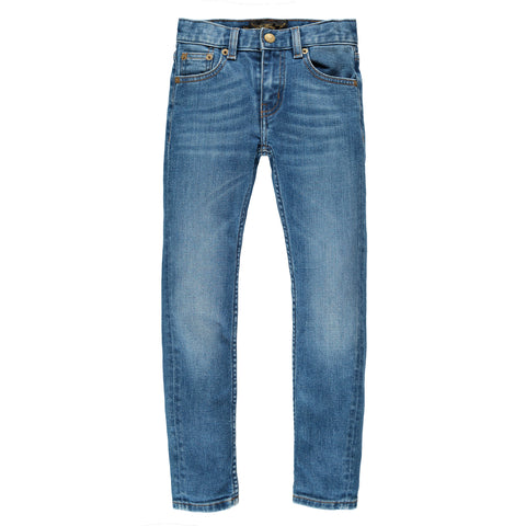 ICON Blue Vintage - Unisex 5 Pocket Slim Fit Jeans