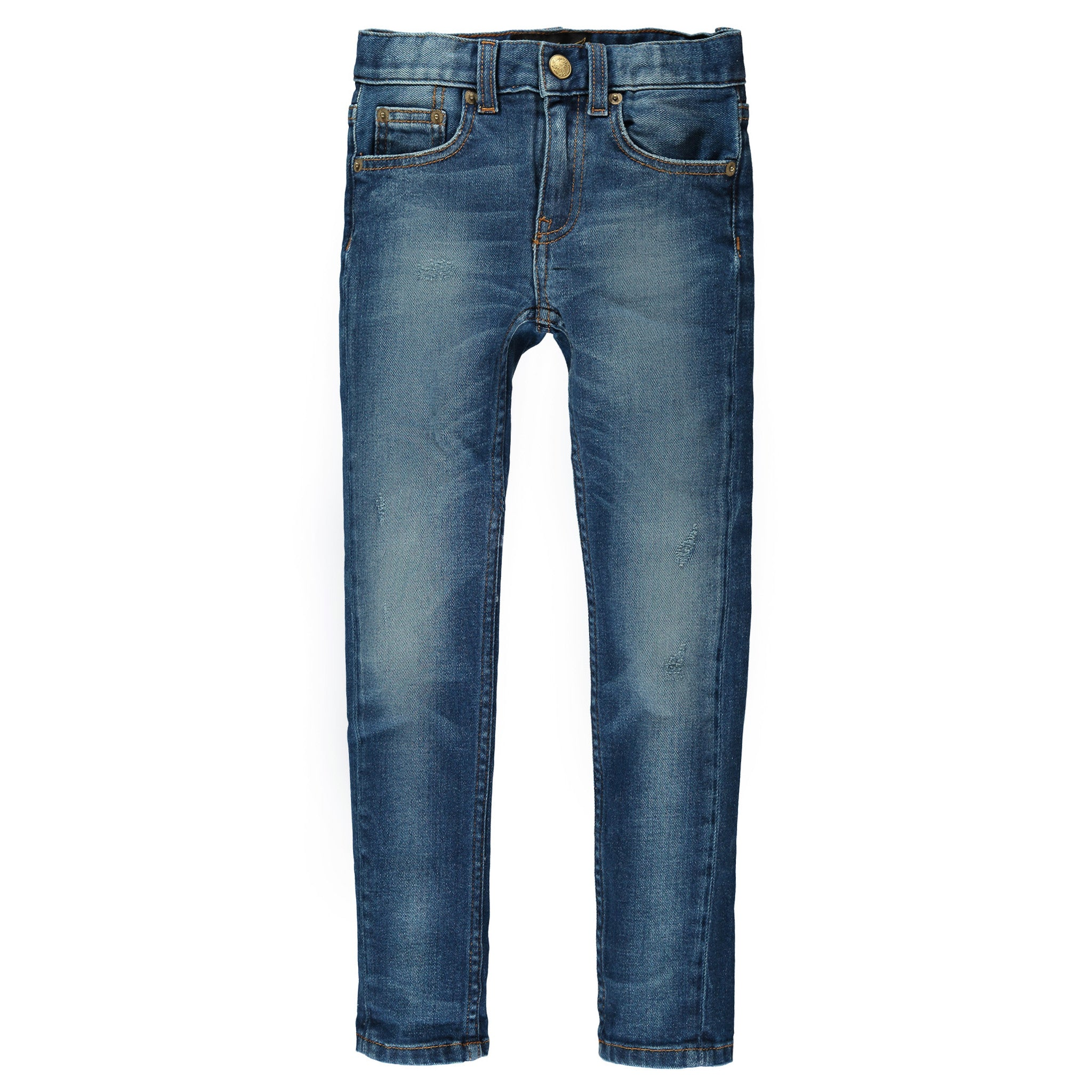 ICON Dirty Blue - Unisex 5 Pocket Slim Fit Jeans