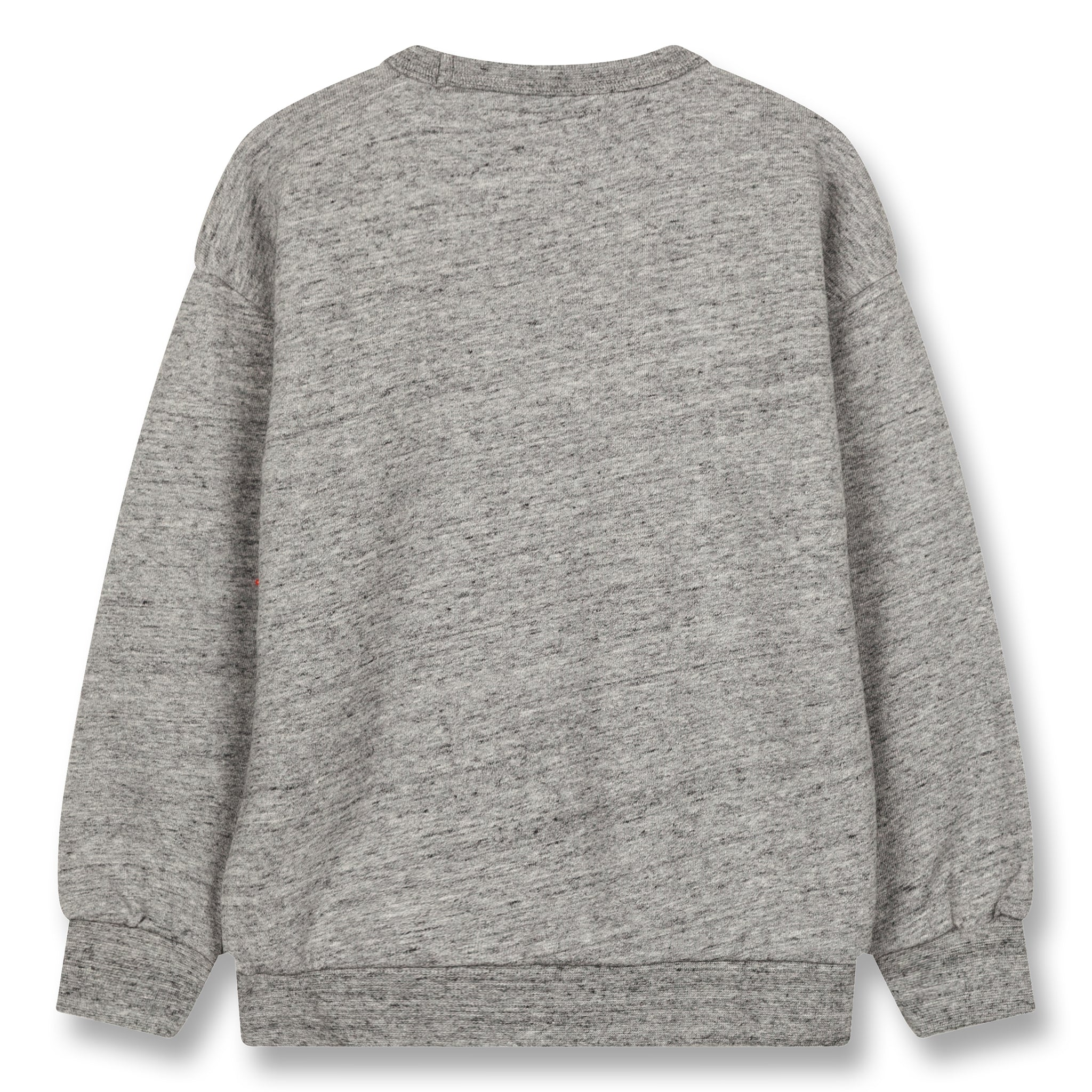 JECKY Heather Grey Colorblock - Crew Neck Sweatshirt 3