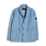 JEFF Bleached Blue - Denim Jacket 1