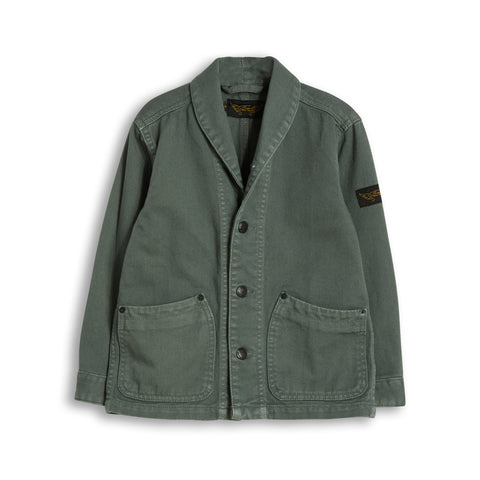 JEFF Green Khaki -  Denim Jacket 1