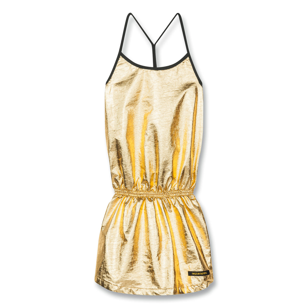 JESS Gold Metal - Tank Top Dress 1
