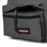 Padded Zippl'r Black Denim Backpack - by Eastpak